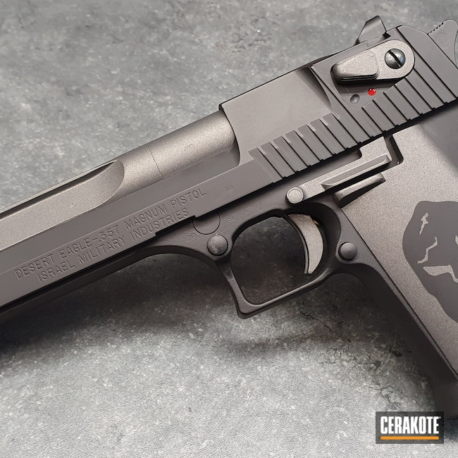 Cerakoted: S.H.O.T,Desert Eagle,Graphite Black H-146,Tungsten H-237,Pistol
