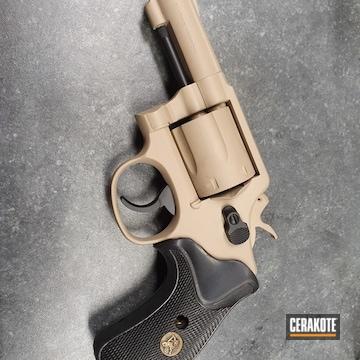 Cerakoted S&w .357 Magnum In H-146 And H-199