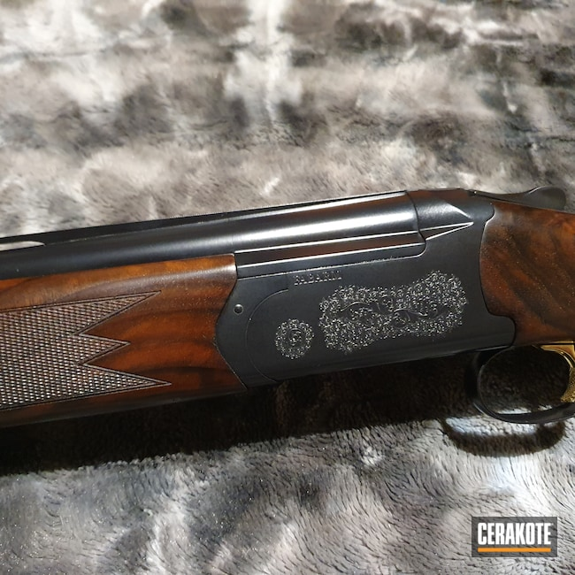 Cerakoted: S.H.O.T,Shotgun,Graphite Black H-146,12 Gauge,Fabarm