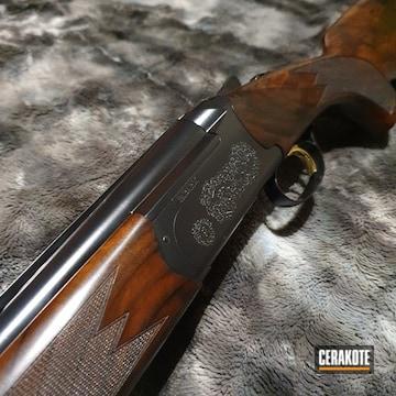 Cerakoted Refinished Fabarm Shotgun In H-146