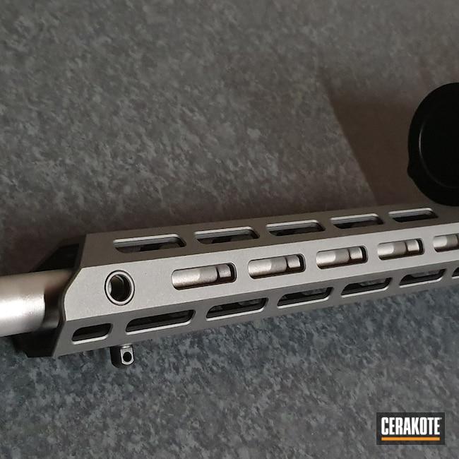 Cerakoted: S.H.O.T,Bolt Action Rifle,Tungsten H-237,Titanium H-170,.223,Tikka