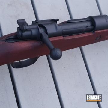 Cerakoted Restored Karabiner 98k Rifle In H-146