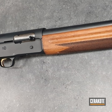 Cerakoted Browning Shotgun In H-146