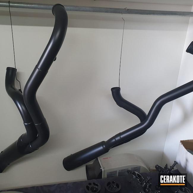 Cerakoted: Motorcycles,Harley Davidson,More Than Guns,Automotive,CERAKOTE GLACIER BLACK C-7600