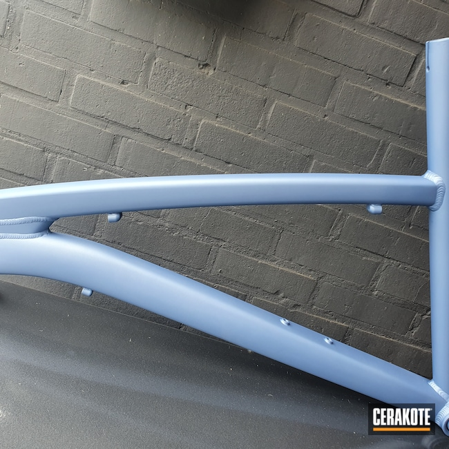 Cerakoted: Bike Frame,More Than Guns,Sports and Fitness,Bicycles,POLAR BLUE H-326