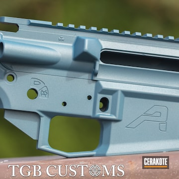 Cerakoted Ar-15 Parts In H-185