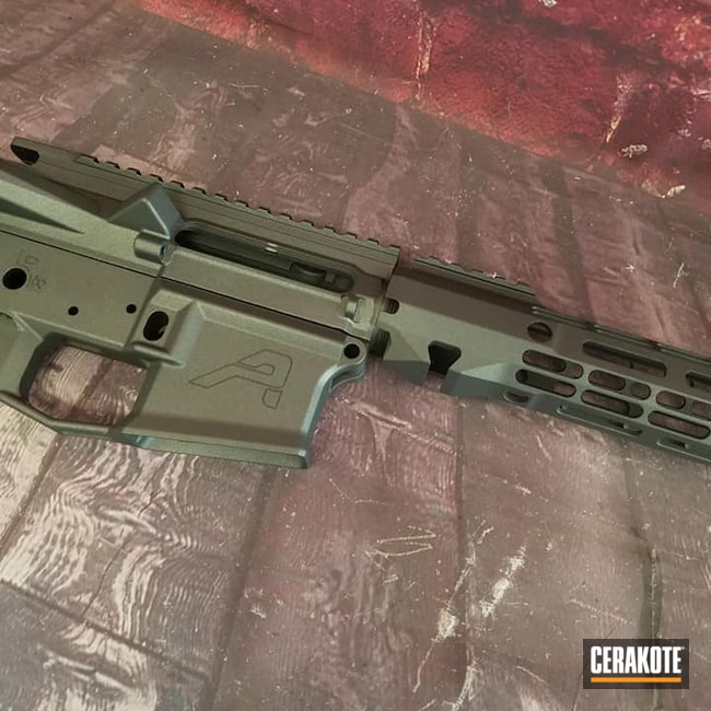 Cerakoted: S.H.O.T,Aero Precision,Lower,Handguard,AR-15 Build,Firearm,Tungsten H-237,Tactical Rifle,Gun Parts,Upper,AR-15