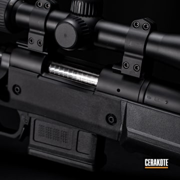 Cerakoted Remington 700 .308 Rifle In H-146
