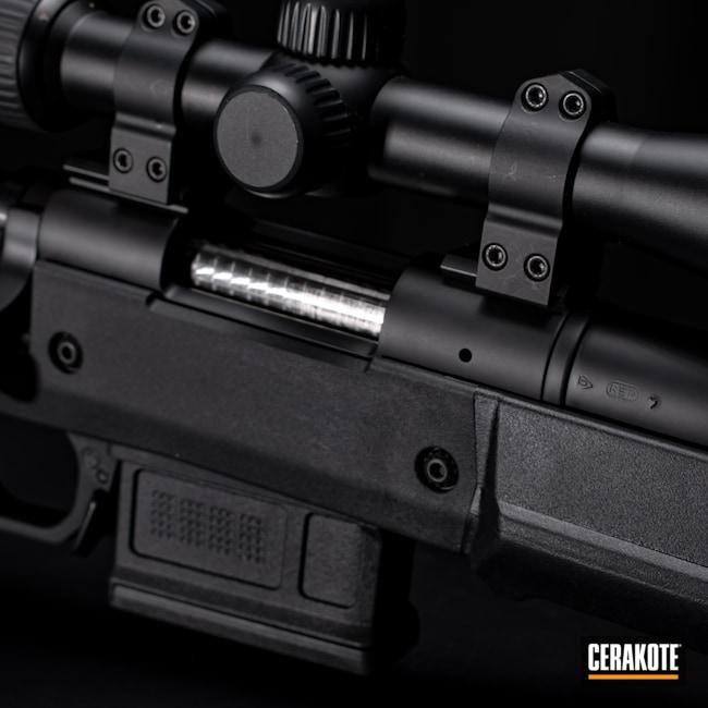 Cerakoted: S.H.O.T,Bolt Action,Graphite Black H-146,Firearm,Tactical Rifle,Remington,.308,Remington 700
