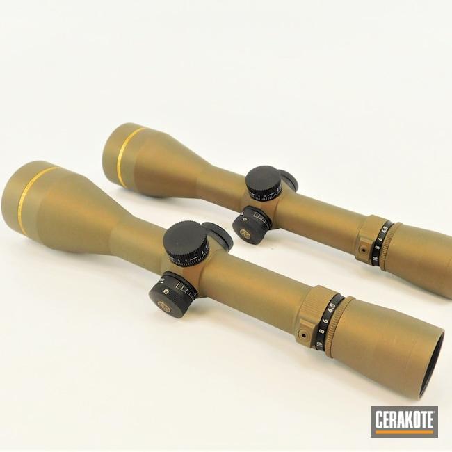 Cerakoted: S.H.O.T,Scope,Scopes,Leupold Scope,Burnt Bronze H-148,vx-3i,Leupold