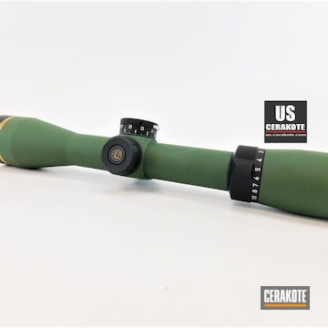 Cerakoted Custom Leupold Scope In H-200