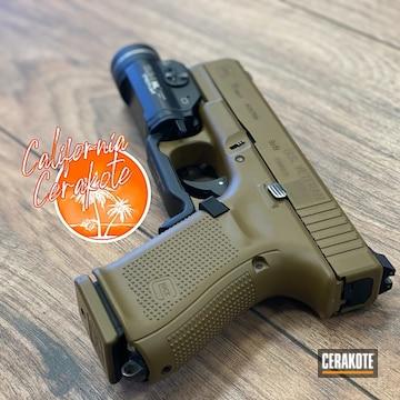 Cerakoted Glock 19 Handgun In H-30118