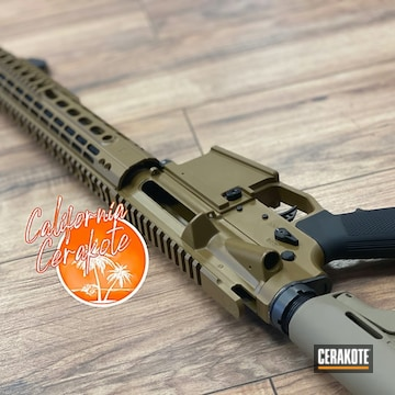 Cerakoted Two Toned Ar In H-30118