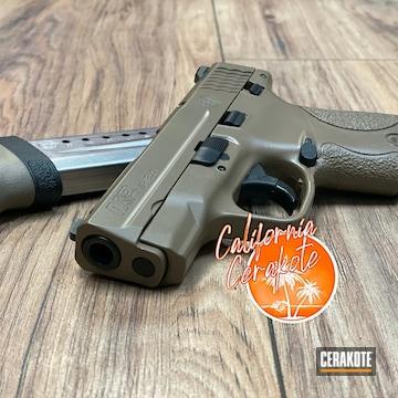 Cerakoted Smith & Wesson M&p In E-170