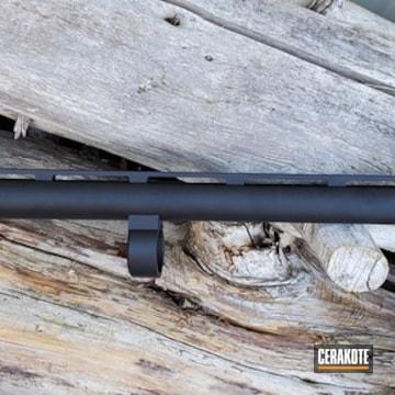 Cerakoted Remington 12 Gauge Barrel In H-146