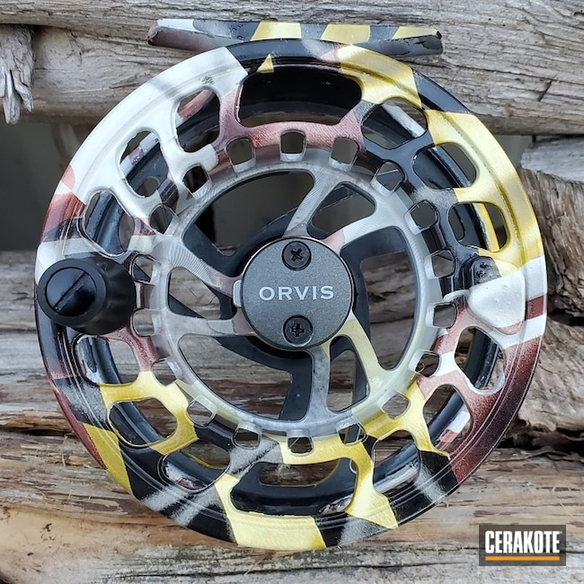 Cerakoted Hydrodip And Sealed Orvis Fly Reel In H-300