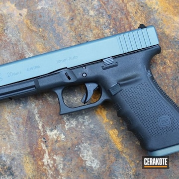 Cerakoted Glock 20 Slide In H-315