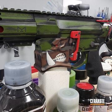 Cerakoted Warthog Themed Ar Build