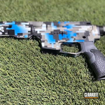 Cerakoted Ar-15 Digital Camo