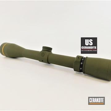 Cerakoted Leupold Vx-3i Scope In H-240