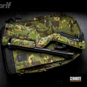 Cerakoted Tropic Multicam Ruger 10/22