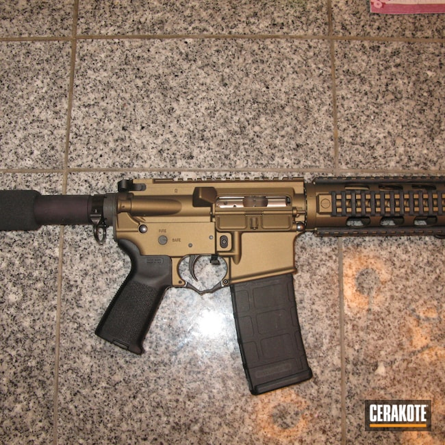 Cerakoted: S.H.O.T,Multi cal,YHM,Burnt Bronze H-148,Tactical Rifle,Yankee Hill