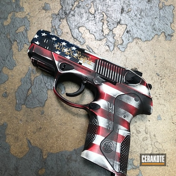 Cerakoted Battleworn Flag Beretta Px4
