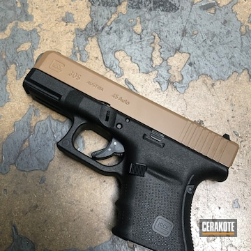 Cerakoted Glock 30s Slide In E-190