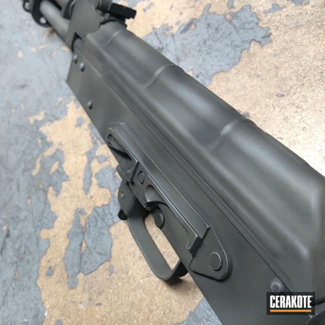 Cerakoted: S.H.O.T,Rifle,Distressed,Bull Shark Grey H-214,MAGPUL® O.D. GREEN H-232,AK Rifle,Sniper Grey H-234,HAZEL GREEN H-204,Battleworn,Worn,7.62x39,Parkerized Mimic,AK