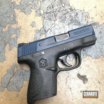 Cerakoted M&p Shield 9mm In H-127 And H-151
