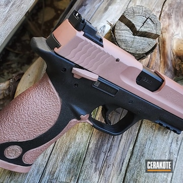 Cerakoted Smith & Wesson 22 Compact In H-327