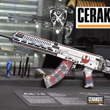 Cerakoted Star Wars Themed Rifle