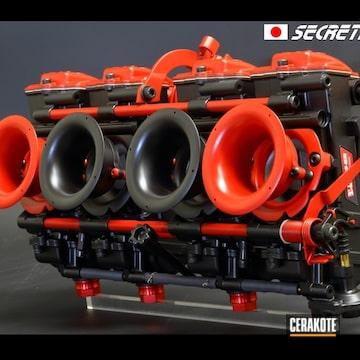 Cerakoted Refinished Keihin Carburetor In H-146 And H-306