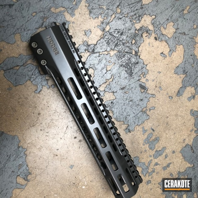 Cerakoted Refinished Handguards In E-190, E-100 And E-170