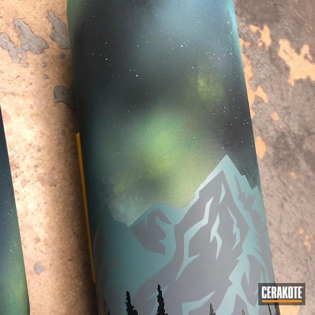 Cerakoted: Custom Mix,Midnight Blue H-238,CITRON H-324,YETI Cup,Zombie Green H-168,More Than Guns,Mountains,Tumbler,Lifestyle,Graphite Black H-146,Rambler,Night Sky,YETI,BLUE RASPBERRY H-329,Custom YETI Cup,Mountain,Sky Blue H-169
