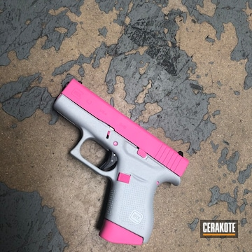 Cerakoted Two Tone Glock 43 In H-255 And H-141
