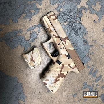Cerakoted Glock 23 Desert Multicam