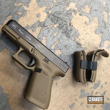 Cerakoted Glock 19 Frame In H-267