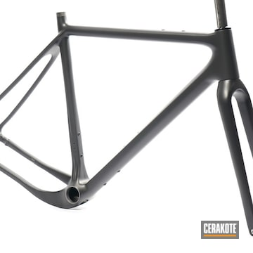 Cerakoted Custom Bicycle Frame In C-7300