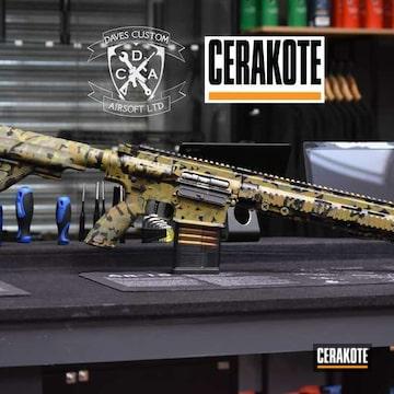 Cerakoted Custom Camo Rifle