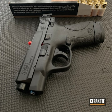 Cerakoted Smith & Wesson 9mm In H-188