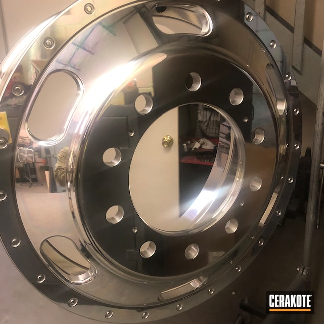 Cerakoted: Polished Aluminum,Cerakote Clear - Aluminum MC-5100,Automotive,Wheels