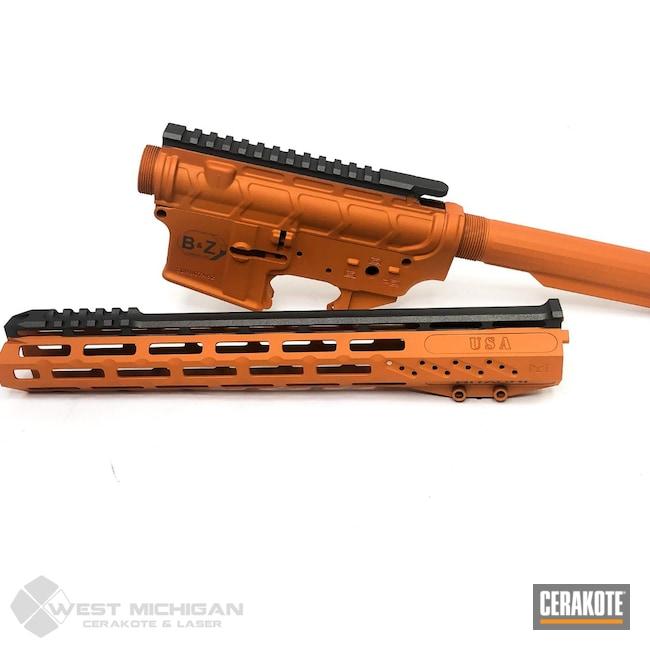 Cerakoted: S.H.O.T,COPPER H-347,Upper / Lower / Handguard,Firearm,Tactical Rifle,Gun Parts,Firearms
