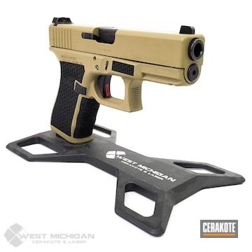 Cerakoted Coated Glock In H-235
