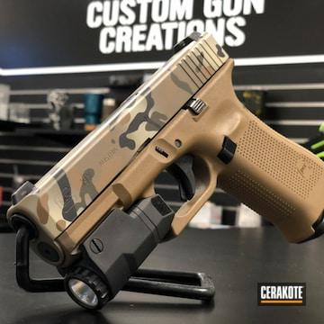 Cerakoted Glock 19x Multicam