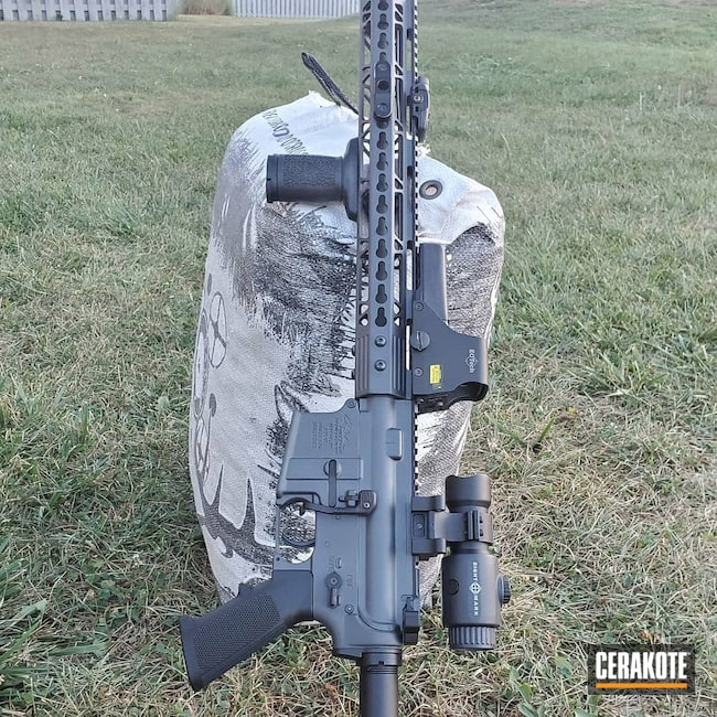 Cerakoted: S.H.O.T,Sniper Grey H-234,AM,Anderson,Tactical Rifle,5.56