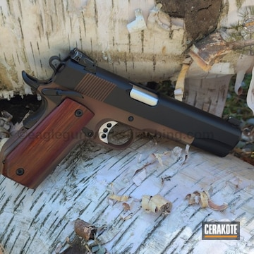 Cerakoted Custom 1911 .45 Acp