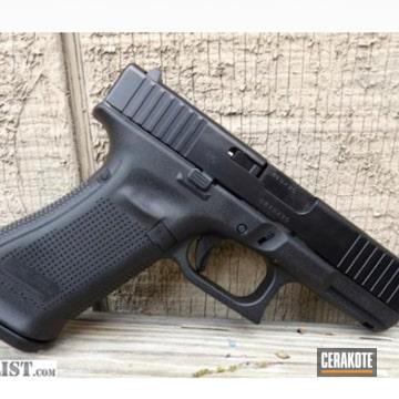 Glock 19 Cerakoted Using Cobalt