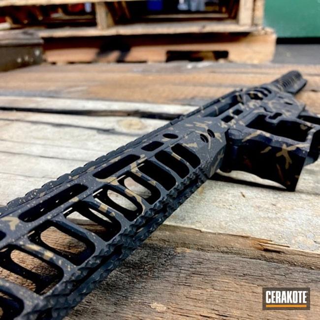 Cerakoted: S.H.O.T,Custom Splatter,Custom Design,Lower Receiver,Upper / Lower / Handguard,Pistol,.223,AR Build,Upper / Lower,AR Pistol,Paint Splatter,Graphite Black,Graphite Black H-146,Burnt Bronze,F1 Firearms,AR Project,Handguard,Burnt Bronze H-148,Splatter,FFL,Buffer Tube,Custom AR,AR-15