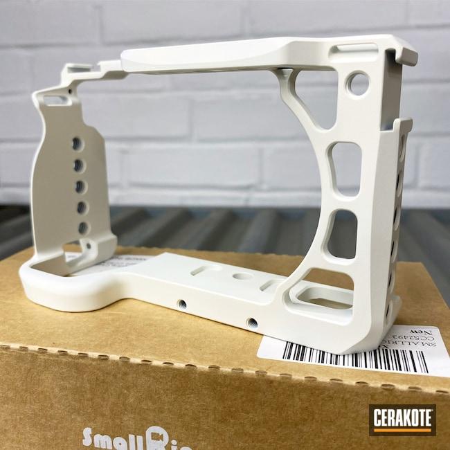 Cerakoted: Digital Camera,Bright White H-140,Camera,Camera Casing,Photography,SmallRig,Canon,More Than Guns,Electronics,Cameras